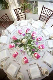 Wedding Centerpieces For Round Tables by Hawaiian Centerpieces Hawaiian Weddings Hawaiian Tropical