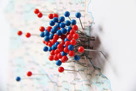 Map With Pins Pins In Map Ins Ssrenterprises Co