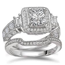 overstock wedding ring sets 1860 best bridal sets images on bridal sets diamond