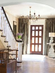 Curtains For Drafty Windows Fabulous Front Door Curtains And The Drafty Door Solution Earnest