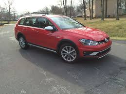 classic volkswagen station wagon car review vw mixes crossover and station wagon with 2017 golf