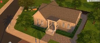 basic house the sims 4 building a basic house youtube