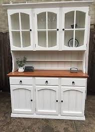 Country Buffet Furniture by Solid Pine Farmhouse Kitchen Welsh Dresser Shabby Chic Painted Fb