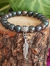 black pearl bracelet jewelry images Men 39 s black pearl jewelry ocean inspired natural stone jpg