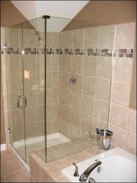 Tiled Bathroom Shower Beautiful Tile Bathroom Shower Design Home Decor