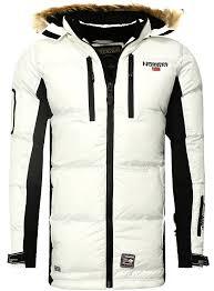coat men coat geographical norway white