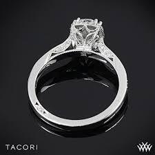 tacori dantela tacori 2620rdp dantela crown diamond engagement ring 2526