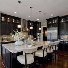 Kitchens With Black Cabinets Pictures A Kitchen For Every Decorating Style White Countertops