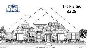the riviera aday estates new home floor plan waxahachie texas