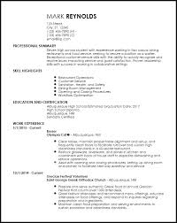 How To Make A Resume For Restaurant Job by Free Entry Level Restaurant Resume Templates Resumenow