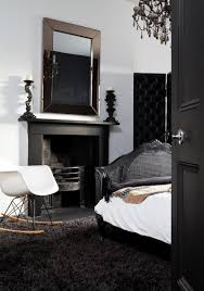 Black And White Modern Rug by Create Drama With Black Carpets And Rugs