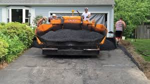 a pak paving resurfaces our asphalt driveway youtube