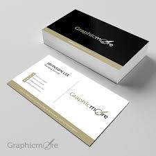 Business Card Psd Free Black U0026 Gloden Creative Business Card Template Design Free Psd File