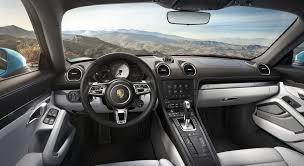 porsche interior 2017 porsche 718 cayman s interior images car images