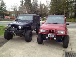 suzuki samurai lifted my suzuki sidekick the garage pinterest toyota tundra 4x4