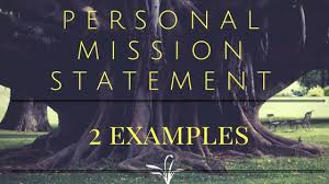 2 examples of a personal mission statement oppiblogoppiblog