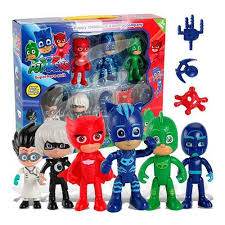 6pcs pj masks action figure toys