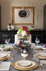 tablescape decorating with ornaments ornament and