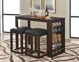 modern counter height table with storage by standard furniture