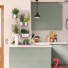 ikea grey green kitchen cabinets a green and environmentally conscious kitchen ikea