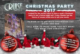 what u0027s on cruise chester 01244 408 000