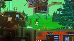 starbound is a little like minecraft set in space