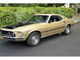 All Black Mustang For Sale 1969 Ford Mustang Mach 1 For Sale On Classiccars Com 18 Available