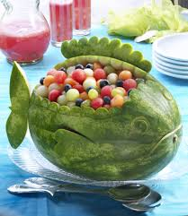 watermelon board fish