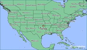 map of tulsa where is tulsa ok where is tulsa ok located in the