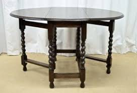Oval Drop Leaf Table Oval Dining Table With Leaf Foter