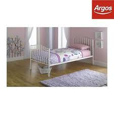 home romantic single metal bed frame from the official argos shop