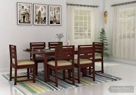 retractable dining table expandable dining set buy extendable dining table woodenstreet