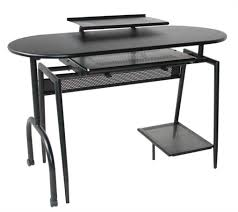Long Gaming Desk by Furniture Awesome Modern Desks For Small Spaces Teamne Interior