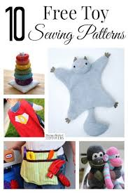 70 best free pattern to sew patchwork toys and felt toys tutorial