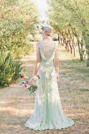 green wedding dress 21 effortlessly beautiful boho wedding dresses onefabday