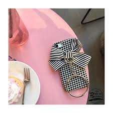 big ribbon plover pattern big ribbon metal ring cover for iphone 7
