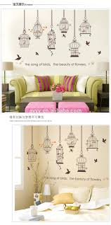 birdcage self adhesive wall sticker diy home decorative birdcage self adhesive wall sticker diy home decorative autocollants