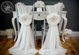 large chair covers wedding large 10 fabric flower chair cover by deladesignstudio
