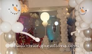 christmas decor winter wonderland ballooninspirations com