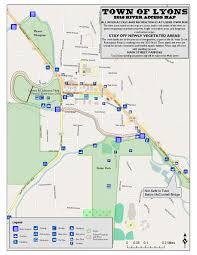 Longmont Colorado Map by Tubing
