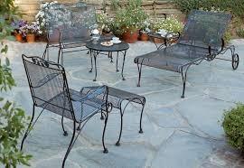 Salterini Patio Furniture Vintage Woodard Wrought Iron Patio Furniture U2014 Home Design Lover