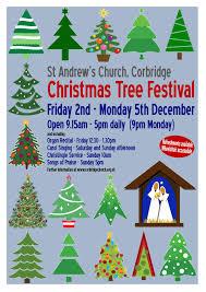 st andrew u0027s church christmas tree festival 2016 visit corbridge