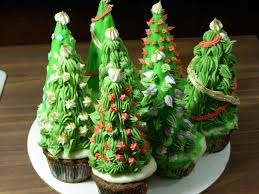 christmas tree cupcakes widower recipes