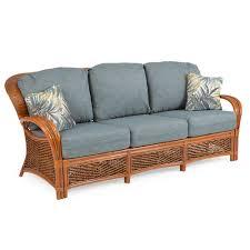 sofa rattan boca bay rattan sofa leaders casual furniture