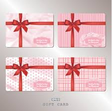 gift cards for free pink gift card vector 01 vector card free