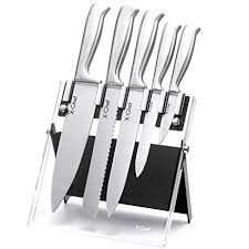 amazon com stainless steel 5 knives set x chef premium class