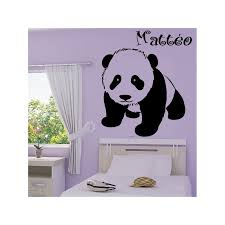stickers panda chambre bébé bébé panda