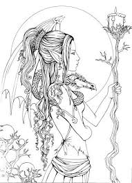 coloring pages for adults pinterest adult fantasy coloring pages adult fantasy coloring pages best 25