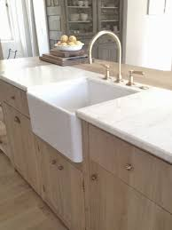 Farmers Sink Pictures by Wood Design Marble Counter Apron Sink Brass Faucet For The