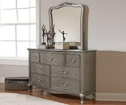 Dresser Bedroom Furniture by Kensington Silver Finish Seven Drawer Dresser 30500 Ne Kids